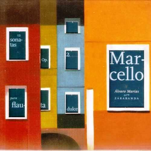 Marias: Marcello - 12 Sonatas op.2 para Flauta Dulce (2 CD, FLAC)