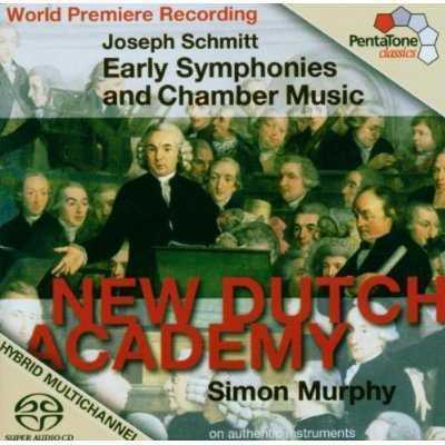 Murphy: Schmitt - Early Symphonies and Chamber Music (APE)