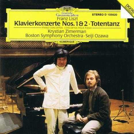 Ozawa: Liszt - Piano Concertos no.1 & 2, Totentanz (FLAC)