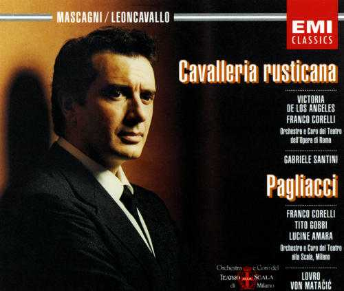 Santini: Mascagni - Cavalleria Rusticana, Matacic: Leoncavallo - Pagliacci (2 CD, APE)