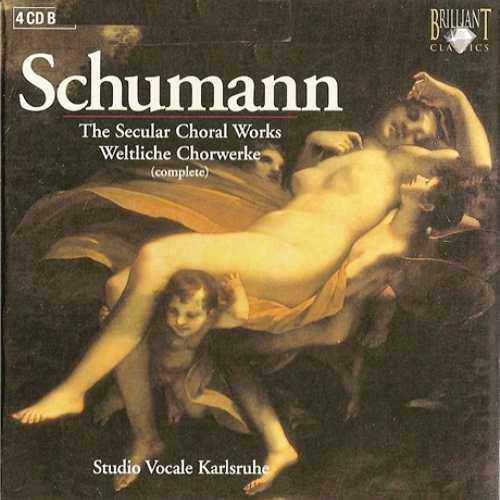 Robert & Clara Schumann - Weltliche Chorwerke (4 CD box set, APE)
