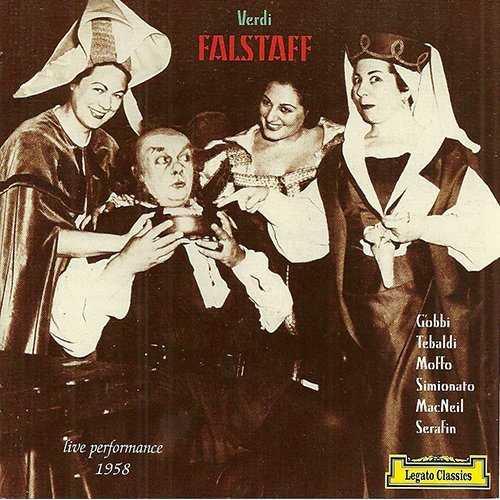 Serafin: Verdi - Falstaff (2 CD, APE)