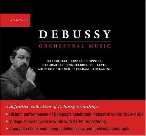Debussy - Orchestral Music (4 CD, FLAC)