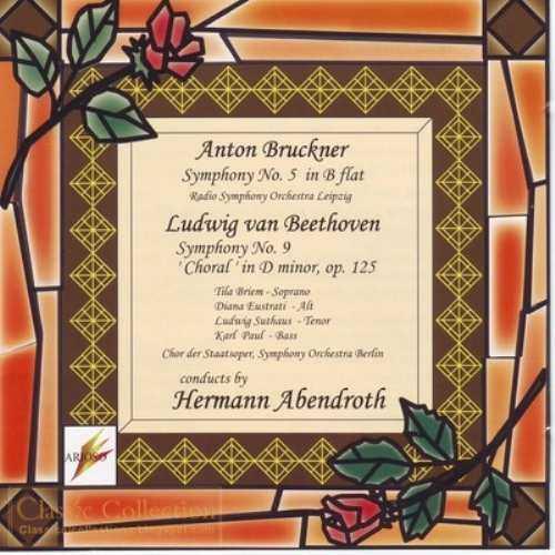 Abendroth: Bruckner - Symphony no.5, Beethoven - Symphony no.9 (2 CD, FLAC)