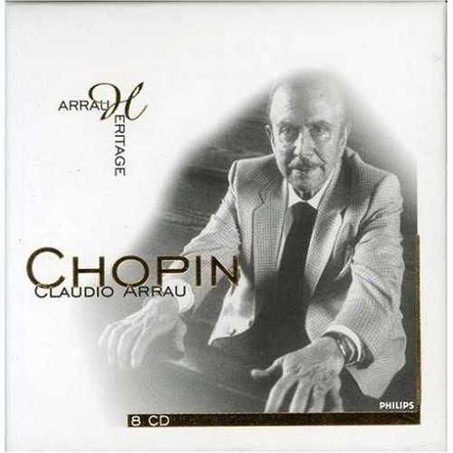 Arrau Heritage: Chopin (8 CD box set, APE)