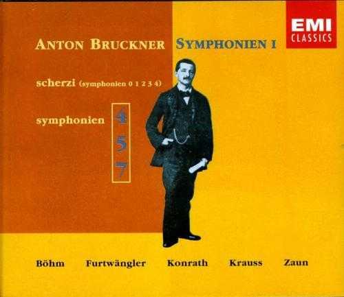 Anton Bruckner Symphonien I (3 CD, APE)
