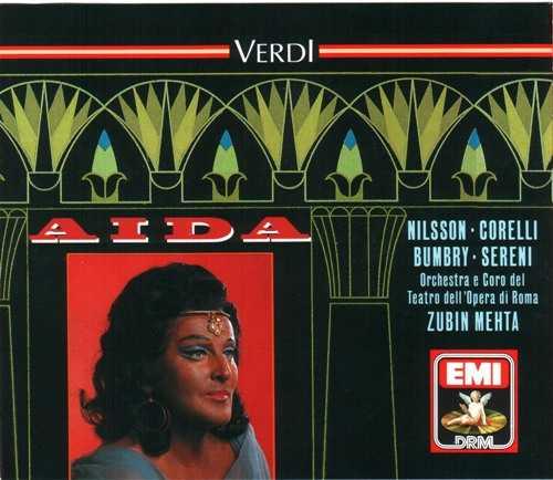 Mehta: Verdi - Aida (2 CD, APE)