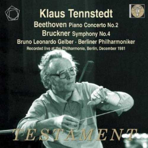 Tennstedt: Beethoven - Piano Concerto no.2, Bruckner - Symphony no.4 (2 CD, APE)