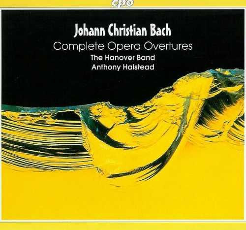 Johann Christian Bach: Complete Opera Overtures (3 CD, FLAC)
