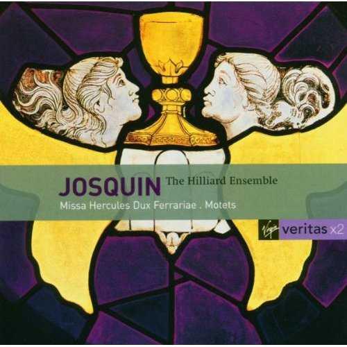 The Hilliard Ensemble: Josquin - Missa Hercules Dux Ferrariae, Motets (2 CD, APE)