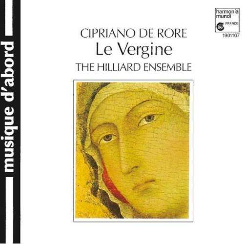 The Hilliard Ensemble: De Rore - Le Vergine (APE)
