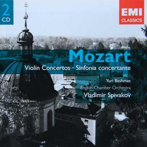 Bashmet, Spivakov: Mozart - Violin Concertos (2 CD, APE)