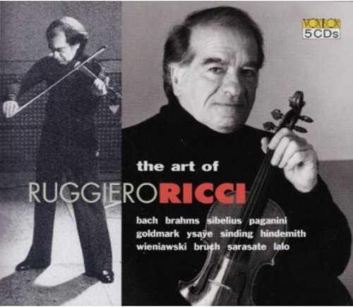 The Art of Ruggiero Ricci (5 CD box set, FLAC)