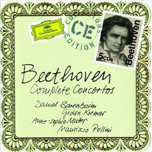 Beethoven - The Complete Concertos (5 CD box set, FLAC)