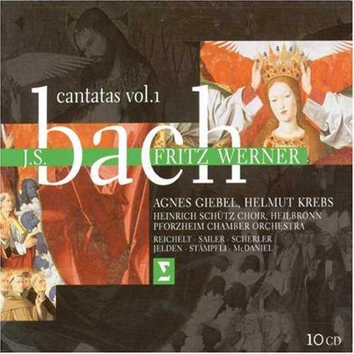 Werner: Bach - Cantatas Vol.1,2 (20 CD, FLAC)