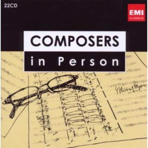 Composers in Person (22 CD box set, FLAC)