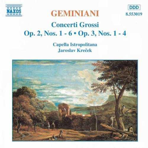 Krecek: Geminiani - Concerti Grossi vol.1,2 (2 CD, FLAC)