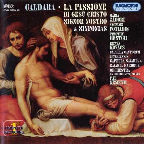 Nemeth: Caldara - La Passione di Gesù Cristo Signor Nostro and Sinfonias (2 CD, APE)
