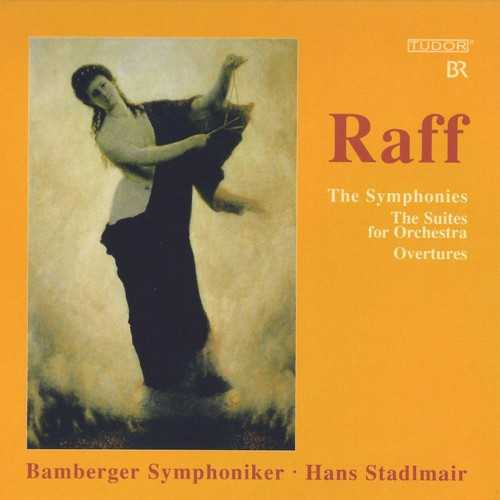 Stadlmair: Raff - The Symphonies, The Suites for Orchestra, Overtures (9 CD box set, FLAC)