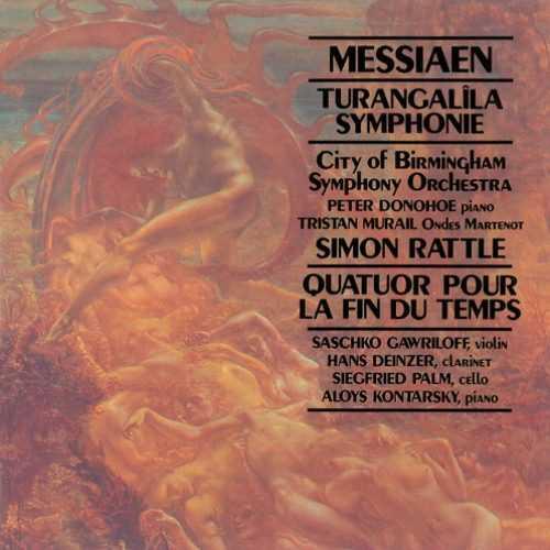 Rattle: Messiaen - Turangalila Symphonie, Quatuor pour la Fin du Temps (2 CD, FLAC)