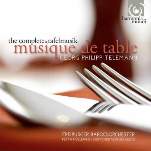 Telemann - Musique de Table (4 CD box set, FLAC)