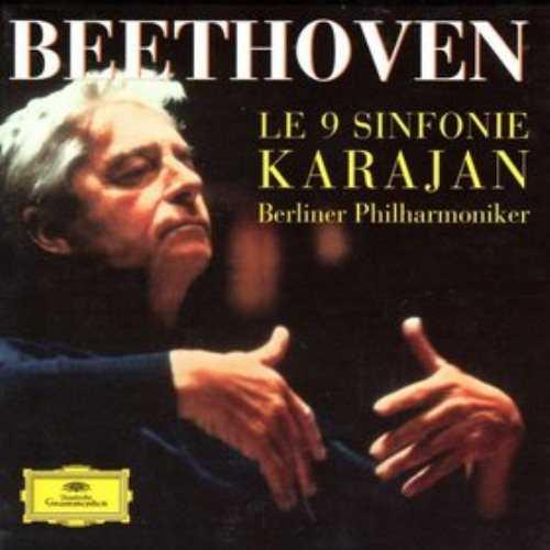 Karajan: Beethoven - Le 9 Sinfonie (5 CD box set, APE)
