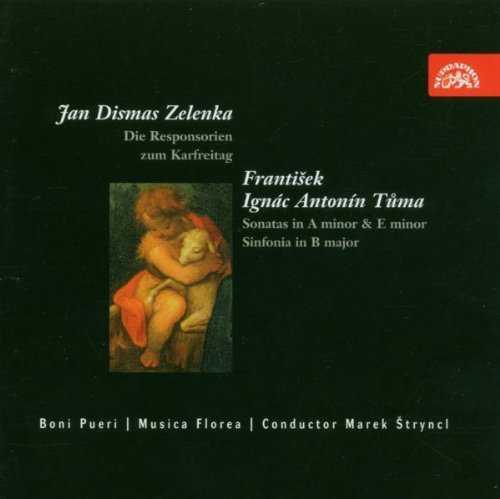 Zelenka: Die Responsorien Zum Karfreitag, Sonatas (APE)