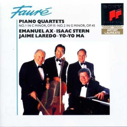 Ax, Stern, Laredo, Ma: Faure - Piano Quartets no.1,2 (APE)
