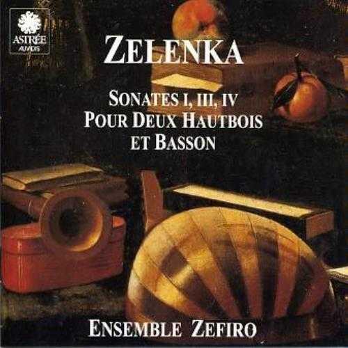 Zelenka: Sonates pour deux hautbois et basson (2 CD, APE)
