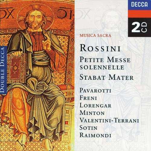 Gandolfi, Kertesz: Rossini - Petite Messe Solennelle, Stabat Mater (2 CD, APE)