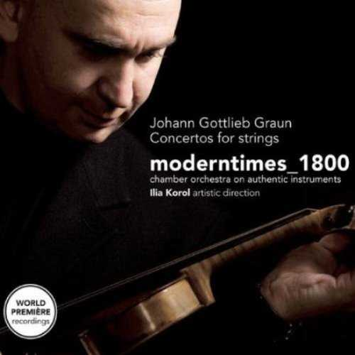 Graun, Grauel - Concertos for Strings (2 CD, FLAC)