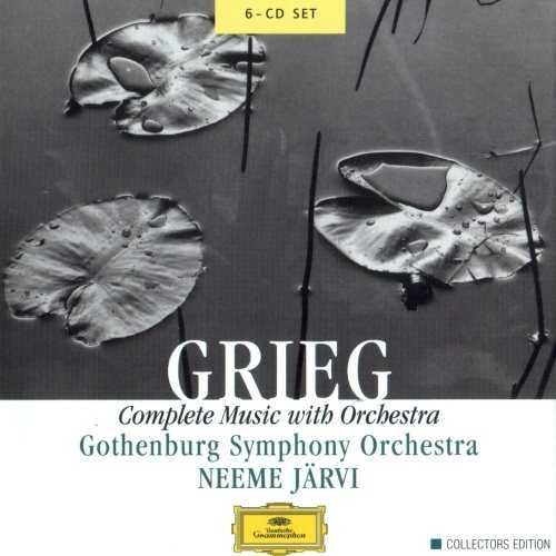 Jarvi: Grieg - Complete Music with Orchestra (6 CD box set, FLAC)