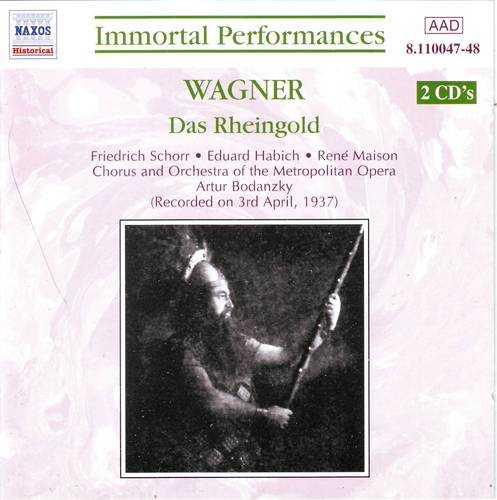 Bodanzky: Wagner - Der Ring des Nibelungen (11 CD, APE)