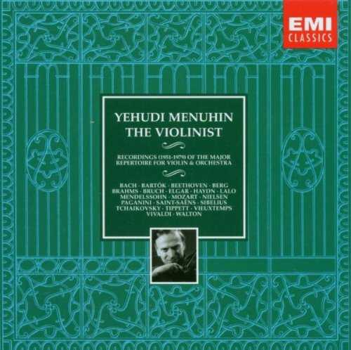 Yehudi Menuhin - The Violinist (10 CD box set, APE)