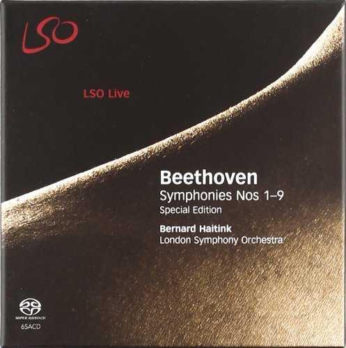 Haitink: Beethoven - Symphonies no.1-9 (6 SACD box set, ISO)