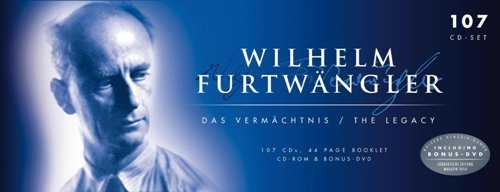 Wilhelm Furtwangler - The Legacy (107 CD box set, FLAC)