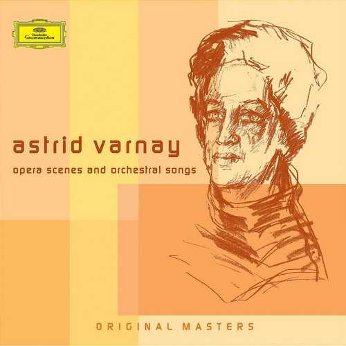 Astrid Varnay: Opera Scenes and Orchestral Songs (3 CD box set APE)