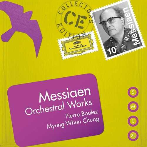 Messiaen: Orchestral Works (10 CD box set FLAC)