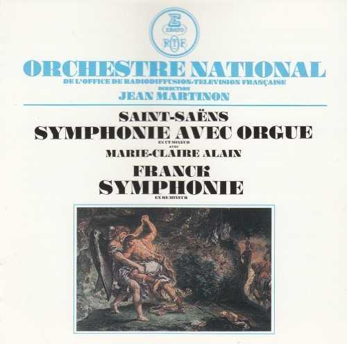 "Martinon: Saint-Saëns – Symphony no.3 ""Avec Orgue"", Franck – Symphony in D minor (SACD ISO)"