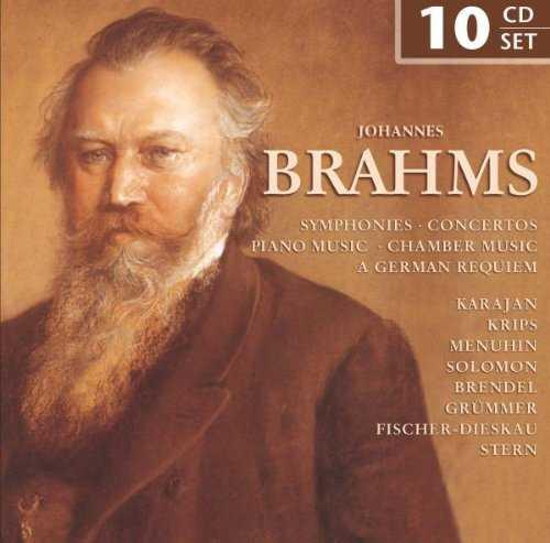 Johannes Brahms - Symphonies, Concertos, Piano Music, Chamber Music, A German Requiem (FLAC)