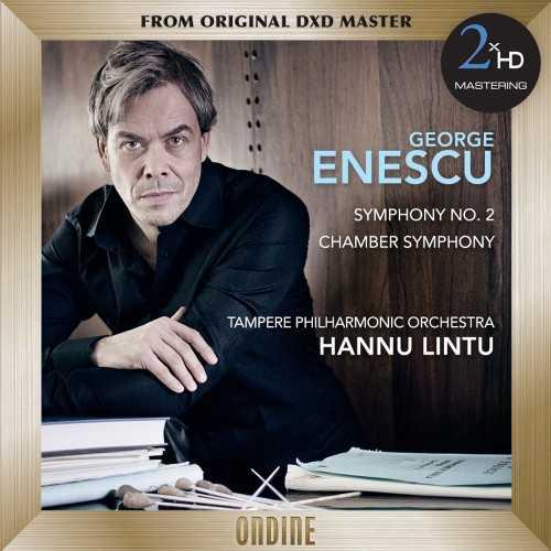 Lintu: Enescu - Symphony no.2, Chamber Symphony (SACD DSF)
