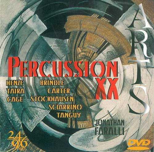 Jonathan Faralli - Percussion XX (DVD-A)