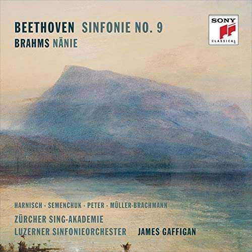 Gaffigan: Beethoven - Symphony no.9, Brahms - Nänie (24/96 FLAC)