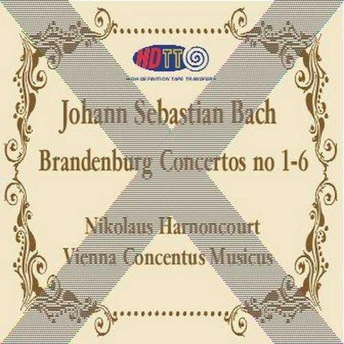 Harnoncourt: Bach – Brandenburg Concertos no.1-6 (SACD)