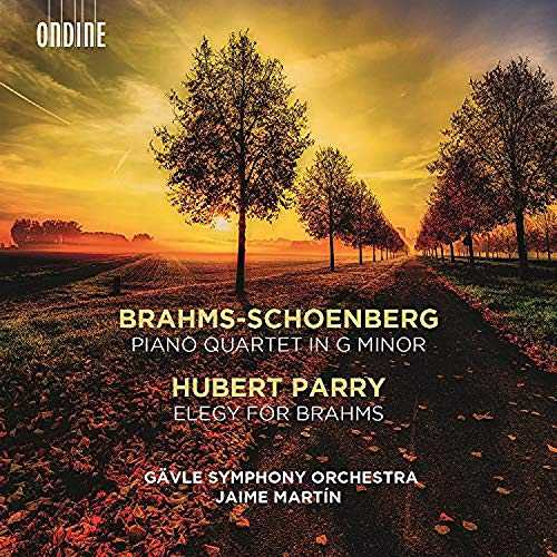 Martín: Brahms - Piano Quartet, Parry - Elegy for Brahms (24/96 FLAC)