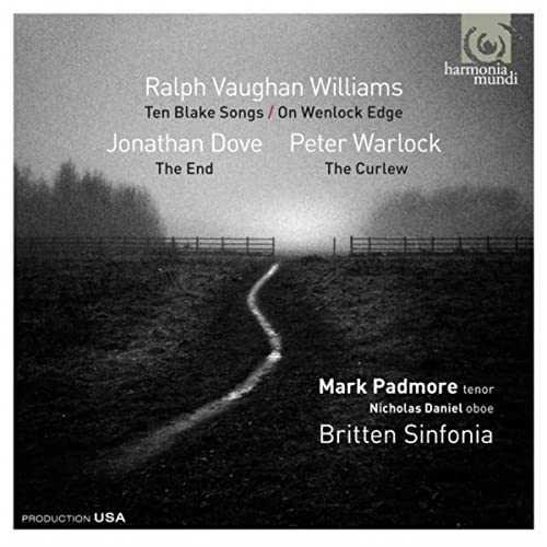 Vaughan Williams, Dove, Warlock - On Wenlock Edge, Ten Blake Songs (24/88 FLAC)