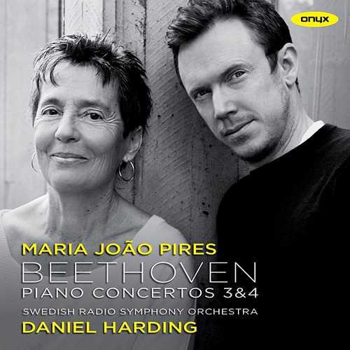 Pires, Harding: Beethoven - Piano Concertos no. 3 & 4 (24/48 FLAC)