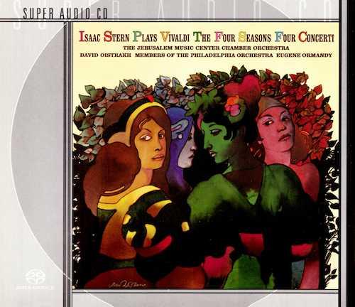Isaac Stern plays Vivaldi The Four Seasons, Four Concerti (SACD)