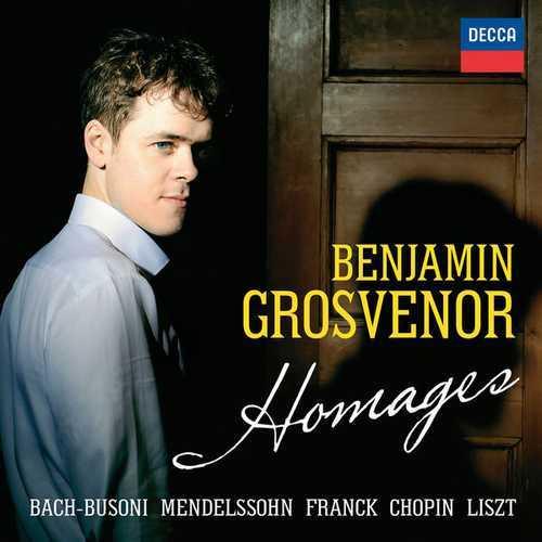 Benjamin Grosvenor - Homages (24/96 FLAC)