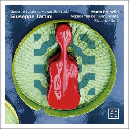 Brunello: Tartini, Meneghini, Vandini - Concerti e Sonate per Violoncello Piccolo (24/96 FLAC)